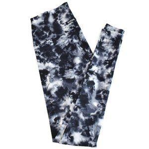 K-Deer Full Length Leggings in Gray Tie Dye M EUC
